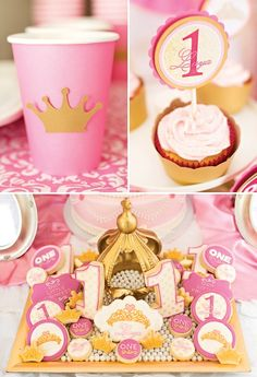 I like how the cups just have a simple crown embellishment (so you can save $$)