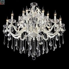 Stor 18 Arms Silver krystall lysekrone MD2152-L18MERS Arms, Chandelier, Ceiling Lights, Silver, Home Decor, Candelabra, Decoration Home, Room Decor, Chandeliers