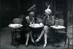 I wish I could travel to Paris in 1925 and be friends with these ladies.