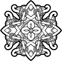 celtic designs | Celtic intricately woven emblem vinyl decal. Customize on line. celtic ...