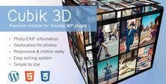 cool Cubik | 3D Cube Gallery Module for Gmedia plugin (Galleries)