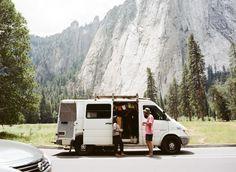 Exploring Yosemite in a dirtbag Van!