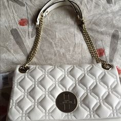 Kate Spade bag Beautiful quilted bag with gold clasp and chain link straps which can be worn as double straps or longer with single strap. Brand new with tags, dust bag included! kate spade Bags Shoulder Bags