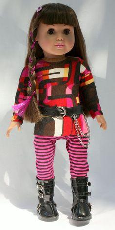 American Girls/ 18 Inch Doll Clothes Cute Rocker by AuroraandLuna, $22 ...