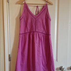 Purple summer dress NWT Gorgeous summer dress! LOFT Dresses