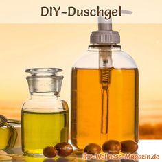 Duschgel selber machen - Duschgel Rezept für Arganöl Duschgel ...