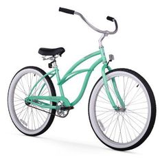 Firmstrong Urban Lady 26 in. Single Speed Beach Cruiser Bicycle Mint Green - 15220, Durable