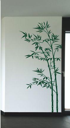 Wandtattoo Bambus  Größe 170 x 56 cm  Weitere Größen auf Anfrage...