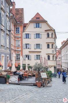 Graz : Que faire, que voir le temps d'un week-end ? Rue Pietonne, Immense, Street View, Moment, Architecture, Instagram, Box, Photos, Graz Austria