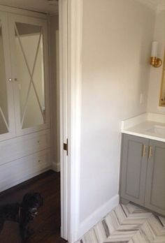 Paint color for master bedroom  Eider White by Sherwin Williams on walls the wall colors
