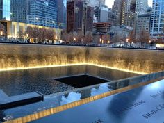 Boston Bronze and Stone Speak To Us: A visit with family to the 911 Memorial