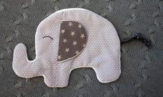 Knistertuch Schmusetuch Elefant