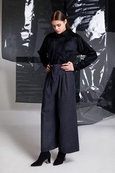 Photographer: Paavo Lehtonen MUAH: Piia Hiltunen Stylist: Shadi Razavi Model: Christina Shevelkova Red Moon, Light And Shadow, Collar Shirts, Duster Coat, That Look, Trousers, Normcore, Feminine, Jackets