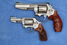S&W PC 627 and 60