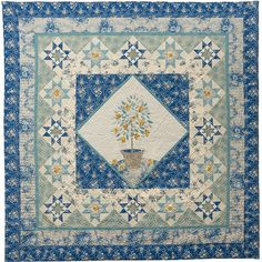 American Quilter's Society - The Lemon Tree Quilt Kit