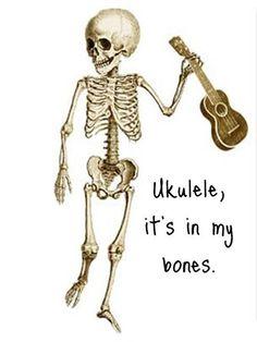 Ukulele, it's in my bones. Ukulele Art, Cool Ukulele, Ukelele, Ukulele Chords, Banjo, Ukulele Strings, Sound Of Music, Music Love, Music Is Life