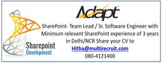 Adapt specializes in Microsoft SharePoint 2013, Microsoft Dynamics CRM, Sage CRM, Microsoft .Net, MS SQL & Power Builder. Adapt is the exclusive distributor for Go-Global in India.