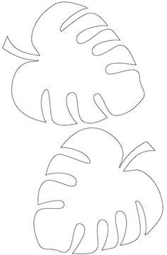 Moldes de folhas para imprimir - Dicas Práticas Paper Flower Wall, Giant Paper Flowers, Doodle Designs, Stencil Designs, Diy Arts And Crafts, Paper Crafts, Leaf Template Printable, Quilt Blocks Easy, Tie Dye Crafts