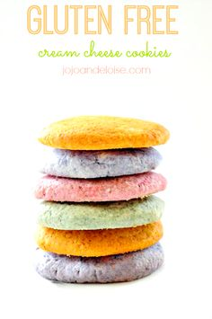 Simple GF (Mix) Cookies + Cream Cheese - sound easy and delish! :-)