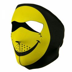 This mask is so cool! I would wear this creepy smiley Jason mask in a second.
