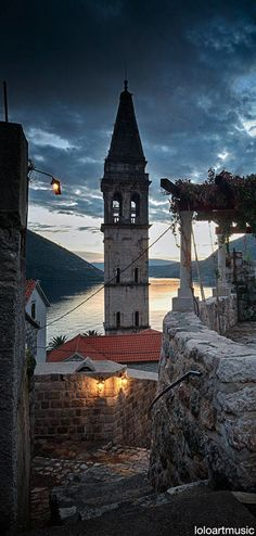 Small town of Perast, Bay of Kotor, Montenegro