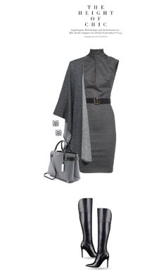 """""""Office Chic"""" by terry-tlc ❤ liked on Polyvore featuring Dsquared2, GUESS, Repeat Cashmere and Michael Kors"""
