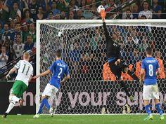 Eurocopa: Irlandaya clasificado, jugó con varios suplentes, con la mira en el próximo partido, frente a España por la Eurocopa