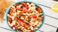 Šialene rýchly šalát z bielej fazule Cobb Salad, Food, Essen, Meals, Yemek, Eten