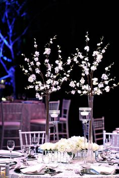 The Coterie Retreat 2014 hosted by MunaLuchi Bride. Dinner at the Straz Center. Decor by ellyb Events. Photo by Amy Anaiz Photography.