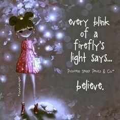 Blink of a firefly
