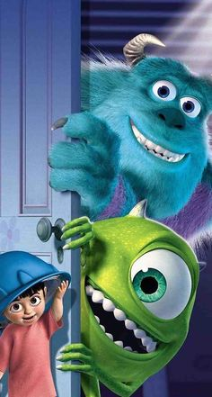 Wallpaper Disney Monsters Inc Iphone Wallpapers 15 Ideas Disney Kunst, Disney Art, Disney Movies, Walt Disney, Tiana Disney, Pixar, Cartoon Cartoon, Iphone Cartoon, Movie Wallpapers