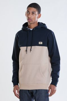 OBEY CLOTHING - OBEY WEST PULLOVER HOOD SWEATSHIRT