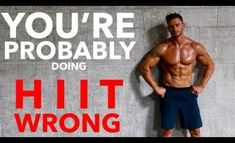Most people perform HIIT cardio wrong. Even improper HIIT will burn calories and body fat, but results will happen at a faster pace when done correctly. Hiit Workout At Home, Kickboxing Workout, Toning Workouts, Circuit Workouts, Squat, Fitness Inspiration, 30 Minute Cardio, What Is Hiit, Routine