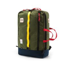 Shop Topo Designs' travel collection built for adventure. Backpacks & duffle bags kit with packing pouches and camera accessories for ultimate organization. Backpack Straps, Laptop Backpack, Travel Backpack, Backpack Bags, Canvas Backpack, Best Travel Bags, Travel Tips, Travel Stuff, Travel Essentials