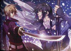 Hakuouki Shinsengumi Kitan: Chikage Kazama & Hijikata Toshizo