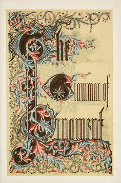 Owen Jones, The grammar of ornament, 1809-1874 (1910)