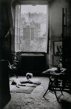 brassaï / l'atelier de picasso / paris / black & white photography