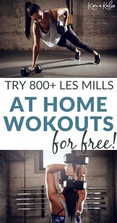 This LES MILLS free trial is the real deal. If you want to start a workout at home but are worried about committing right from the start, having the option for a free LES MILLS on Demand trial may be just what you need!| No Gym Workouts | At Home Workouts for Women, Men and Coupes! | Cardio, HIIT,