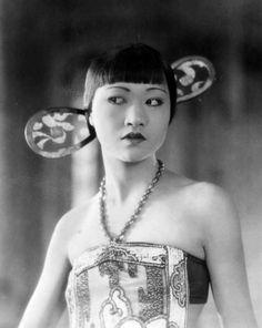 A very young Anna May Wong, 1925