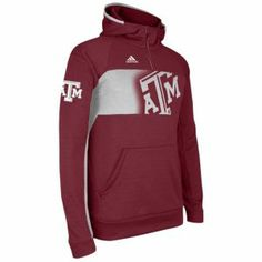 size 40 14663 2d65d adidas College Sideline Climawarm Player Hoodie - Men s - Texas A M Aggies  - Maroon