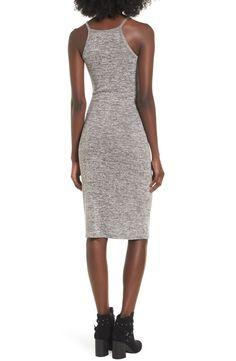 Main Image - Leith Mélange Body-Con Dress