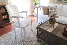 DIY French Chair Makeover - Scavenger Chic