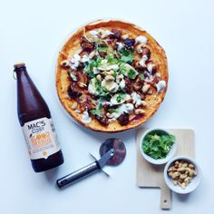 matching homemade pizzas with the new macs ciderApril 2015 New Mac, Yummy Chicken Recipes, Chicken Tikka, Macs, Blood Orange, Vegetable Pizza, Food And Drink, Homemade, Style