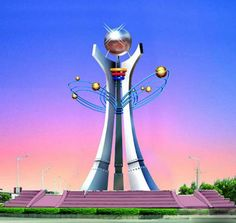 Large outdoor 316 stainless steel sculptures Tower Clock, Steel Sculpture, 316 Stainless Steel, Abstract Sculpture, Statue Of Liberty, Sculptures, China, Building, Outdoor