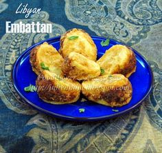 Libyan Embattan (fried potatoes stuffed with ground beef) http://julienjulia.blogspot.com/2014/11/libyan-embattan.html