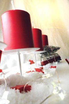 Kleiner #Bulli im Winterwunderland -  ein selbstgemachter #Adventskranz  mit VW Bus #diy Advent, Diy Weihnachten, Vw Bus, German, Tableware, Inspiration, Diy, Diy Gifts, Diy Home Crafts