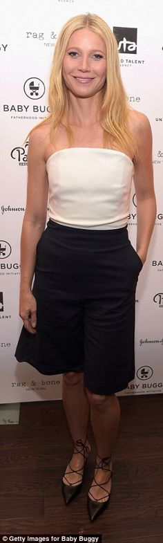Gwyneth Paltrow reveals 10-year-old daughter Apple wears her clothes #dailymail