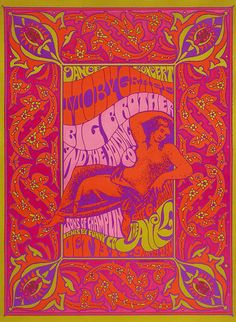 Big Brother and the Holding Company/Moby Grape/Sons of Champlin, October 13-14, 1967, The Arkin Sausalito, California.