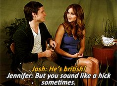On why Josh Hutcherson is more attractive than Robert Pattinson. | The 25 Best Jennifer Lawrence Quotes Of 2012