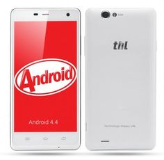 THL 5000T use 5 Inch screen, 1GB RAM + 8GB ROM with MT6592 Octa core 1.4GHz processor, has 5MP front + 13MP rear dual camera, installed Android 4.4 OS.